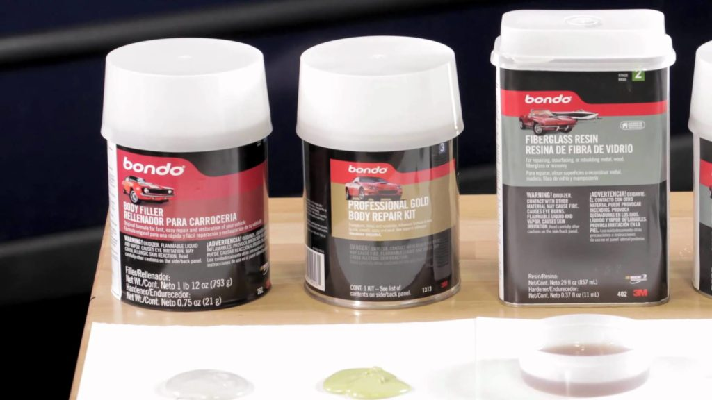 Bondo Professional Gold Filler