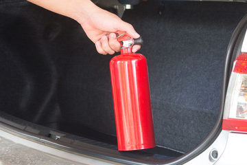 car fire extinguishers
