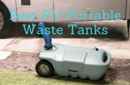 best rv portable waste tanks