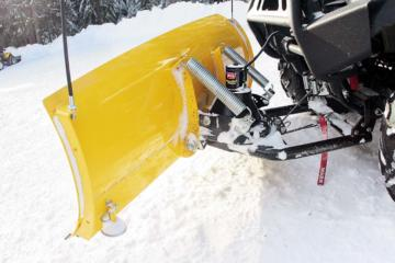 atv snow plow reviews