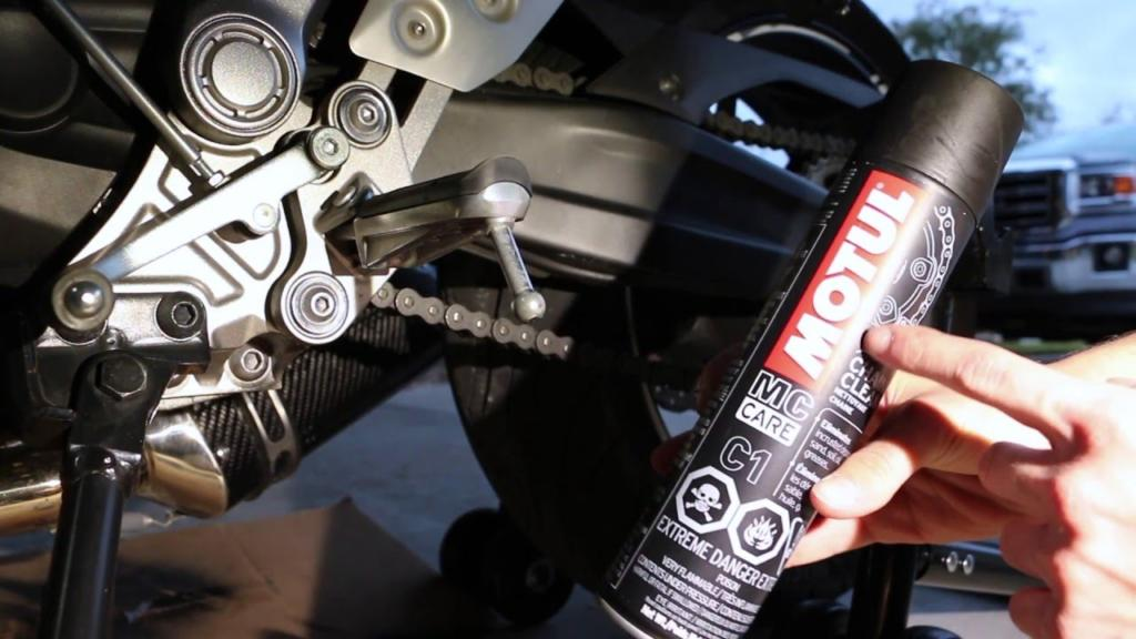 motorcycle chain lubes
