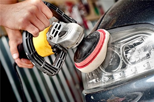 cleaning headlight
