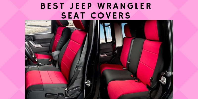 BLACK 91001 2003-2006 Jeep TJ LJ Wrangler Rough Country Neoprene Seat Covers