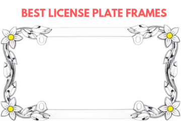 Best License Plate Frames