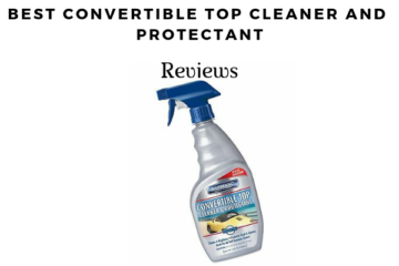 Convertible Top Cleaner And Protectant