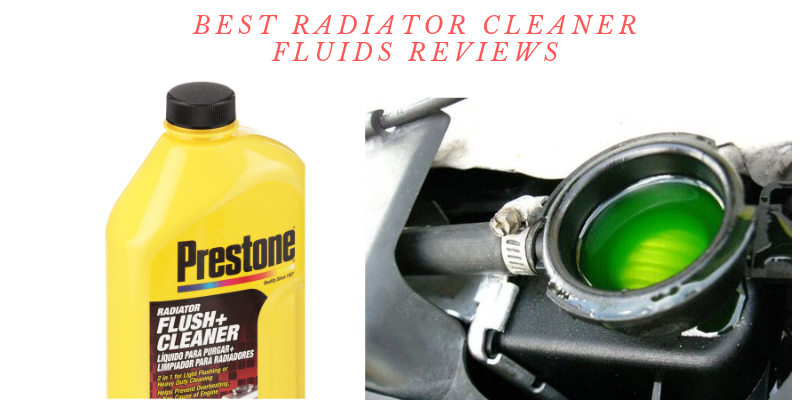 radiator cleaner fluids