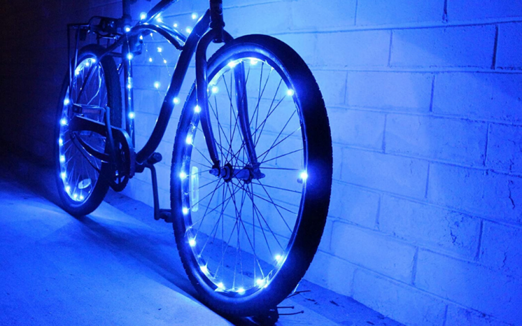 Bicycle Wheel Light review