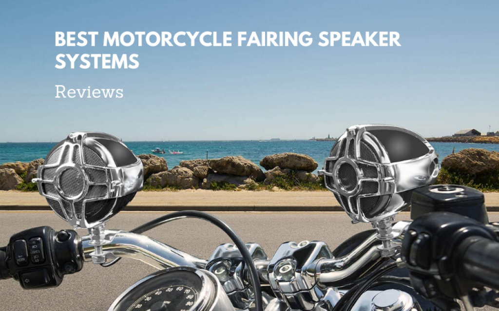 best motorcycle fairing speaker systems