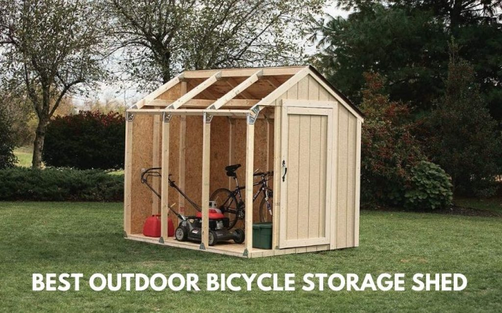 Top 8 Best Outdoor Bicycle Storage Shed To Afford In 2021 Reviews