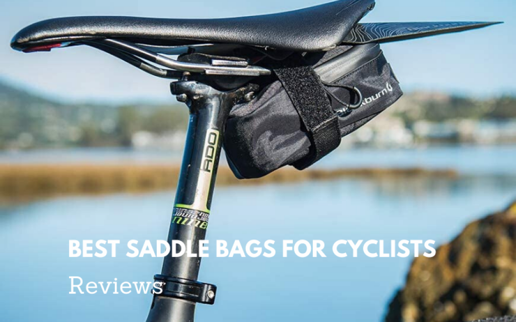 saddle bags for cyclists