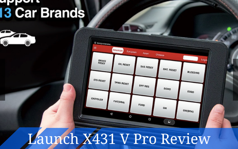 Launch X431 V Pro Review – A Great Scan Tool