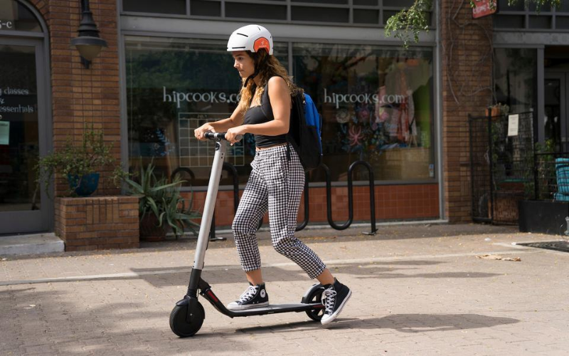 Segway Ninebot ES4 Electric Scooter Review Ride