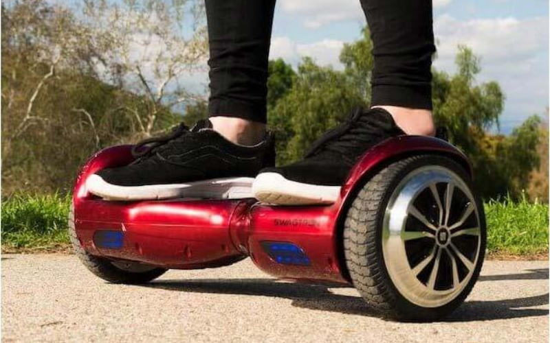 Swagboard T1 Pro Hoverboard Review Ride