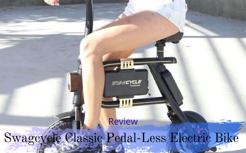 Swagcycle Classic Pedal-Less Electric Bike Review
