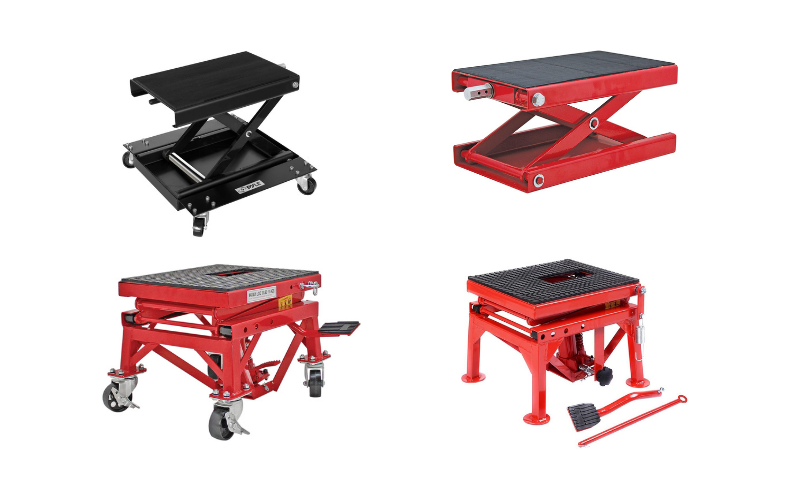 Top 4 Best Motorcycle Lift Table On The Market In 2021 Review