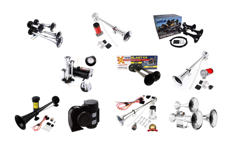 Top 10 Best Train Horn Kits You Should Buy In 2021 Review