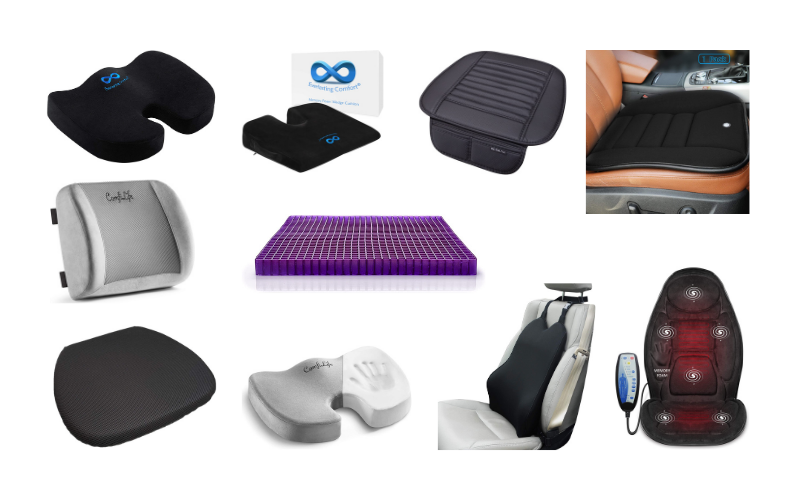 Best Car Seat Cushions – Top 10 Rated In 2021 Review