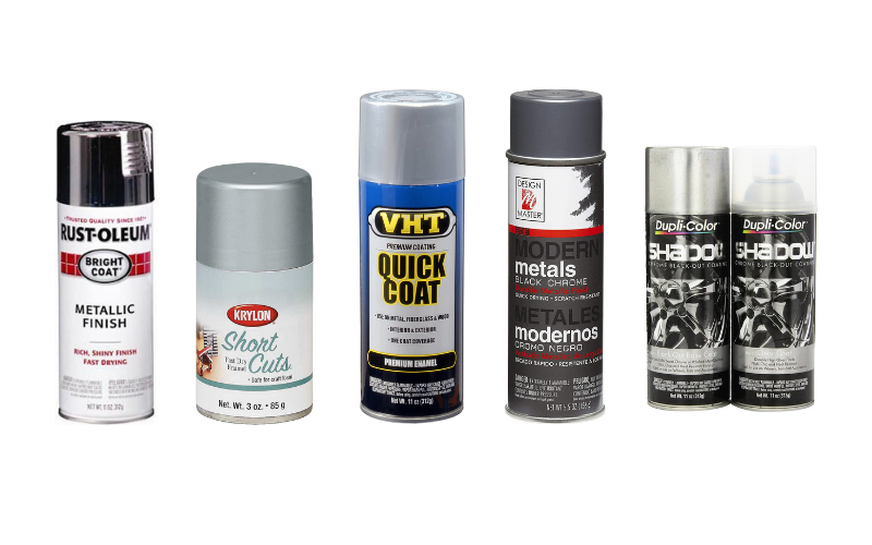 Top 5 Best Chrome Spray Paints On The Market In 2021 Review