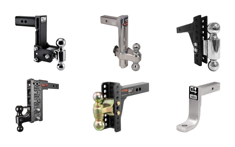 Best Drop Hitch for Lifted Trucks