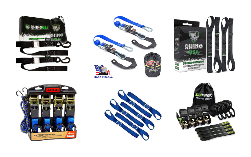 Top 6 Best Motorcycle Tie Down Straps On The Market In 2021 Review