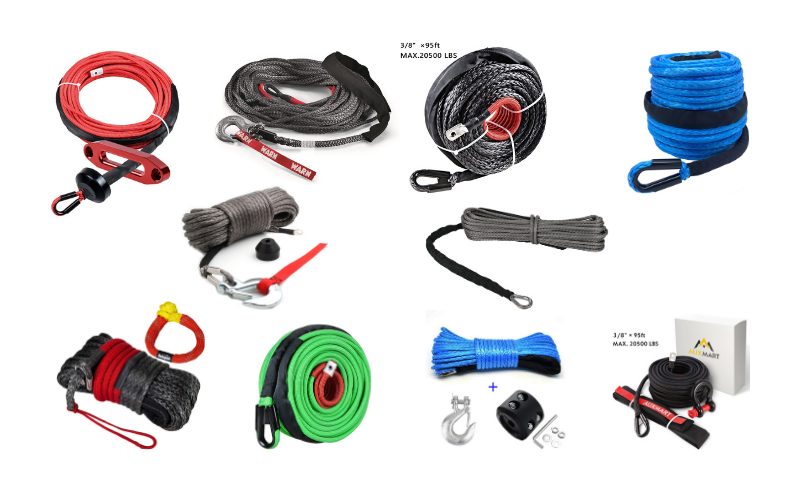 Top 10 Best Synthetic Winch Ropes On The Market In 2021 Review