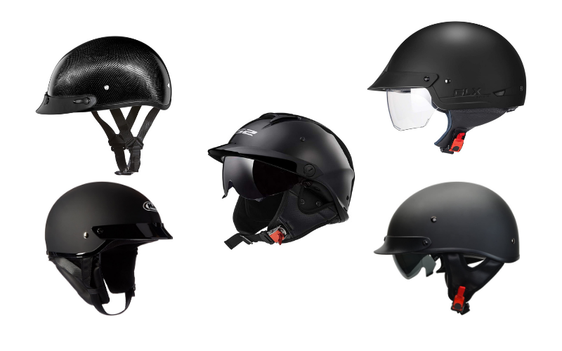 Top 5 Best Motorcycle Half Helmets To Purchase In 2021 Review