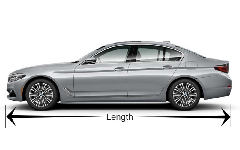 how long is car what is the average length of car