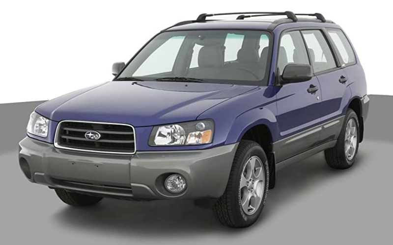 2003 Subaru Forester Issues