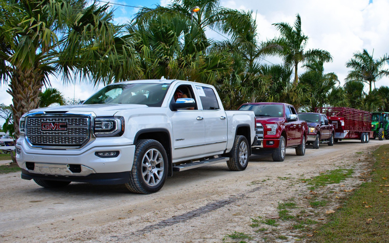 What's the Average Size of a Half-Ton Truck?