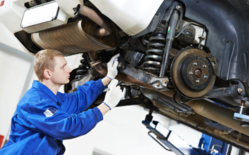 how much does it cost to replace suspension guide