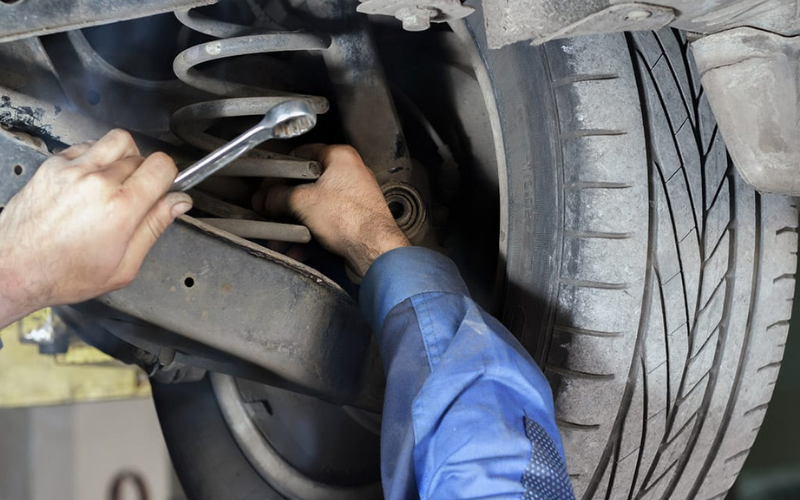 how much does it cost to replace the suspension tip