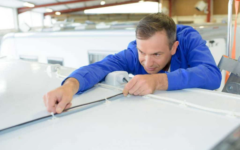 how much does replacing rv roof cost