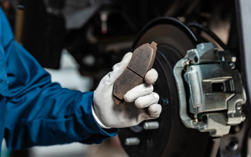 the brake pad and rotor replacement cost